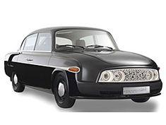 Tatra 603 je hvězdou Los Angeles Auto Show. Může za to Faurecia