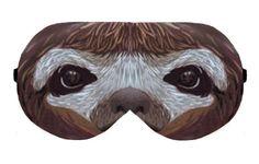 Sloth Painting Sleep Sleeping Eye Mask Masks, Eye mask, Sleep mask, Sleeping mask, Blindfold, Handmade Sleep Sleeping Eye cover mask masks by venderstore on Etsy