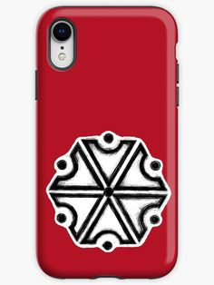 'Perun, Slavic God of Thunders symbol (iPhone Red version)' iPhone Case by WearGraphics Pagan Symbols, Iphone Wallet, Iphone Case Covers, Wicca, Protective Cases, Thunder, Ipad Case, Smartphone, God
