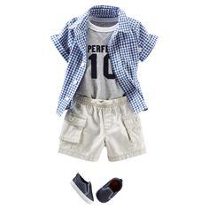 Baby Boy PERFECT IN PLAID | OshKosh.com