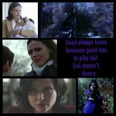 OUAT Regina. One of the best quotes in the show. I feel that Regina can do more then anybody else because she can go back and forth from evil and good and stay on track to get the job done.