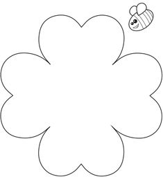 Heart-Flower-Craft-Template.pdf Bible School Crafts, Bible Crafts For Kids, Mothers Day Crafts For Kids, Winter Crafts For Kids, Sunday School Crafts, Fathers Day Crafts, Spring Crafts, Preschool Crafts, Flower Crafts Kids