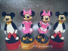 miki & mini Pasta Flexible, Minnie Mouse, Disney Characters, Mini