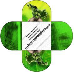 Forminhas Docinhos Hulk: