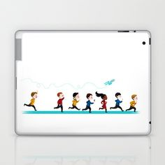 Star Trek Into Adorable Laptop & iPad Skin by IllustrateKate - $25.00
