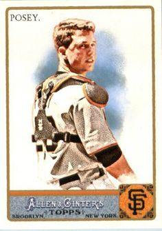 2011 Topps Allen and Ginter Baseball Card #265 Buster Posey - San Francisco Giants - MLB Trading Card by Topps. $2.51. 2011 Topps Allen and Ginter Baseball Card #265 Buster Posey - San Francisco Giants - MLB Trading Card