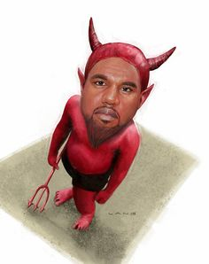 You Draw Funny: Kanye as the Devil