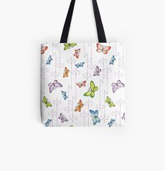 Large Bags, Small Bags, Cotton Tote Bags, Reusable Tote Bags, Glass Butterfly, Designer Totes, Medium Bags, Are You The One, Shopping Bag