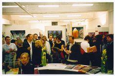 Inspired Art Fair = First London Art Show!   Old Truman Brewery, Brick Lane   London, UK 2003   Scanned June, 2013   Unedited Film ...