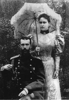 Grand Duke Sergei Alexandrovich and Grand Duchess Elizabeth Feodorovna (Ella of Hesse).