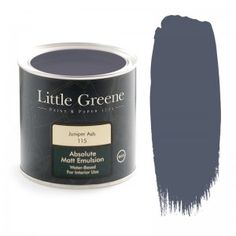 Little Greene Intelligent Matt Emulsion in Juniper Ash at GoWallpaper UK