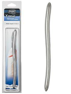 Push Xtreme Fetish - 20cm Edelstahl Dilator Expert 11mm & 12mm breit - Dilatoren - Kinkinky - Fetisch, BDSM, Toys und mehr