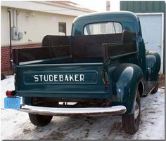 Studebaker M-series pickup truck, 1947       I'd love to have this as a daily driver