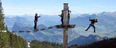 Pilatus rope park - Central Switzerland