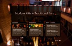 Web Design Concept for Wokcano -- Via Executionists