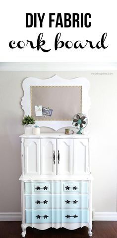 DIY fabric cork board tutorial on iheartnaptime.com ...LOVE this! #DIY #crafts