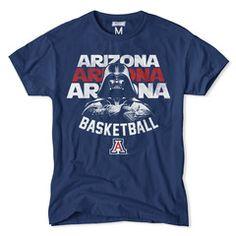 Arizona Darth Vader Basketball T-Shirt