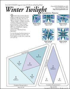 Winter Twilight - pattern here