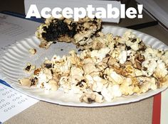 It has been said that popcorn is the easiest, most foolproof food to cook. | 13 Dorm Food Hacks Gone Wrong