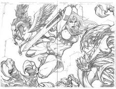 Ultimates vs Venom by Joe Madureira Comic Book Artists, Comic Artist, Comic Books Art, Joe Madureira, Character Design References, Character Art, Reference Manga, Wolf Illustration, Comic Art Community
