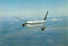 Olympic Airways Card postal Airbus A300-103