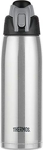 Thermos Vacuum Insulated 24-Ounce Stainless Steel Hydration Bottle, Charcoal: Storage & Organization: Amazon.com