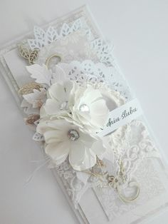 Becca Feeken Cards, Scrapbook Cards, Scrapbooking, Money Envelopes, Wedding Cards Handmade, Gift Envelope, Wedding Anniversary Cards, Magical Wedding, Sympathy Cards