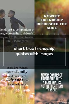 short true friendship quotes with images Short Friendship Quotes, Friend Friendship, Proverbs 27, Life, Image, Best Friend Quotes