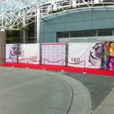 Step and Repeat Fabric Backdrops Leo Awards 12