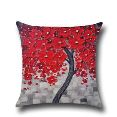 Colorful Tree Home Decor Cushion Cover Wonderful Sofa Beding Room Decorative Pillow Case Chilidren Gift Office Car Decoration