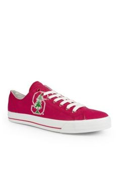 Row One Brands Cardinal Unisex Stanford University Low Top Shoes