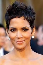 Halle Berry, beautiful.