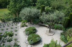 La Louve, Provence, designed by Hermes stylist Nicole de Fasian, has garden design inspiration for harsh climates.