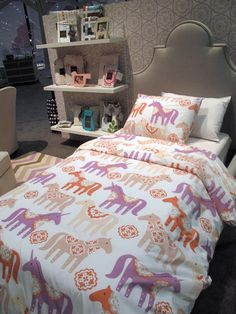 Dwell Studio Unicorn Twin/ Full Bedding Sets. I Am Thinking I Am Going To Gallery