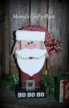 2x4 Santa