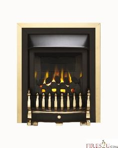 The Valor Homeflame Blenheim slimline high efficiency glass fronted gas fire is regal in looks and dignified in technology.