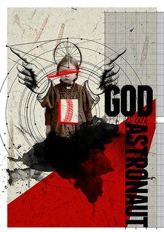 God is an Astronaut  collage digital