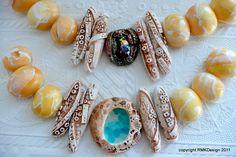 Bracelet ideas by ketztx4me, via Flickr