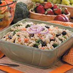 Italian Broccoli Pasta Salad