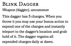 A simple magic dagger that rewards creative thinking : UnearthedArcana Dungeons And Dragons Homebrew, D&d Dungeons And Dragons, Easy Magic, Simple Magic, Dnd Dragons, Dnd Funny, Dnd 5e Homebrew, Fantasy Weapons, Fantasy Warrior
