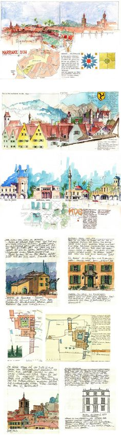 Travel Journal  -  Jochen Schittkowski   #urban  #sketch      https://www.flickr.com/photos/127217696@N02/with/17074447880/