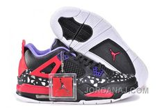 Buy Nike Air Jordan 4 Womens Dog Pattern Limited Edition Black Red White  Shoes from Reliable Nike Air Jordan 4 Womens Dog Pattern Limited Edition  Black Red ... 8a05be69163ee