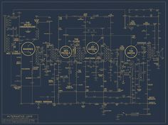 Designer James Quail based the poster's design on a circuit board from a transistor radio.
