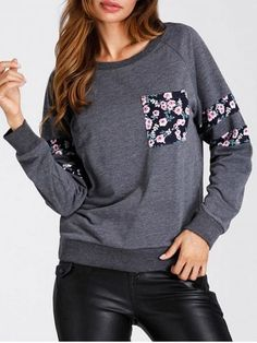 GET $50 NOW | Join RoseGal: Get YOUR $50 NOW!https://www.rosegal.com/sweatshirts-hoodies/patched-pocket-floral-print-sweatshirt-1555812.html?seid=6340016rg1555812