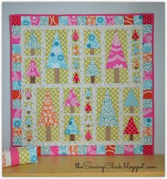 The Sewing Chick   Candy Forest Wall Quilt