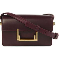 SAINT LAURENT Lulu small shoulder bag, Amarena colour
