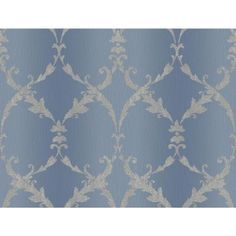 York Wallcoverings 60.75 sq. ft. Gated Scroll Wallpaper-CR2832 - The Home Depot