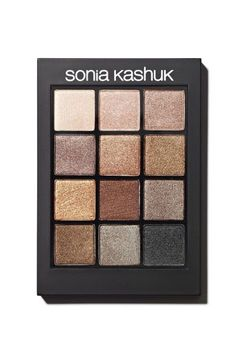 The 12 Best Eyeshadow Palettes Under $20 #refinery29  http://www.refinery29.com/affordable-makeup-palettes#slide-1  Best For: Neutral Smoky EyesSonia Kashuk's palette, filled with shimmery neutrals, is makeup artist Fabiola's go-to for smoky eyes. You can easily upgrade the 12 shadows (which are impossibly soft and silky, btw) from day to night by layering or sweeping them on with a wet br...