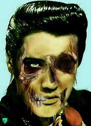 Zombie Elvis.