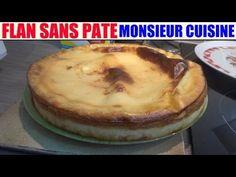 recette flan sans pate - monsieur cuisine lidl silvercrest skmh 1100 - YouTube